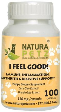 I Feel GOOD - Immune, Inflammation, Joint and Digestive Support for Puppies >>> Special dog product just for you. See it now! : Dog Health Supplies