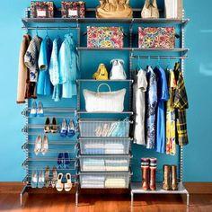 The Elfa Closet Organization System