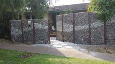 Michaels gabion wall