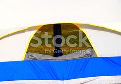 Tourist Tent Back View Background Photograph royalty-free stock photo
