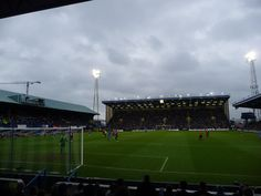 Portsmouth Football Club. Fratton Park, Portsmouth, England