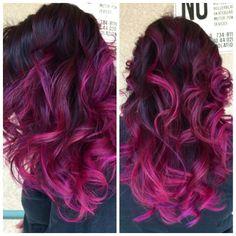 Love how my hair came out(: thanx to my beautiful friend MeaganSanders(: #Feb.24 #CalLooksSalon #VisaliaCa