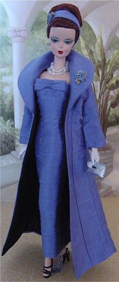 Evening wear - Add extra panel at front of coat to make the collar.