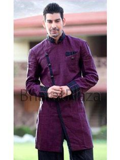 Angrakha men - Google Search Casual Wear For Men, Churidar, Indian Ethnic, Online Clothing Stores, Party Fashion, Chef Jackets, Latest Trends, Shirt Dress, Mens Tops