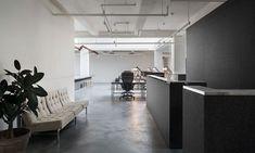 aesop office new york New York Office, Grey Stain, Hotel Interiors, Aesop, Retail Design, Dining Bench, Interior Design, Architecture, Modern