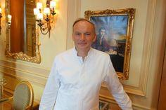 Head chef Christian Le Squer