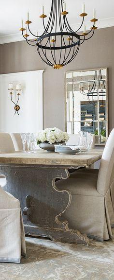 Interior Designer Marie Flanigan | Dining Room Design Ideas