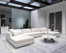 Milo Modular Sectional - Alesund Modern Felt comes in blue Mid Century Modern Sofa, Mid Century Modern Furniture, Modern Sectional, Sectional Sofa, Sofa Shop, Modular Design, Bedding Shop, Alesund, Mid-century Modern
