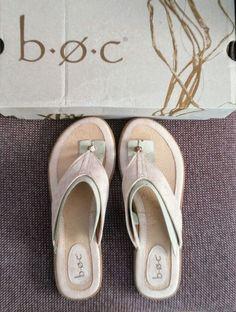 21b1e7a1cc36f Womens Size9 M BOC Shimmering Copper Bronze Color Thong Flip Flops Sandals  EUC  fashion  clothing  shoes  accessories  womensshoes  sandals (ebay link)