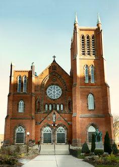 St. Mary's Roman Catholic Church, Kitchener, Ontario | 15 picture panorama
