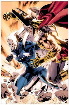 Blue Marvel 1.06  by ~JohnRauch