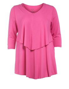 Choise Double-layered shirt in Pink