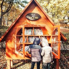 Little Free Library Plans, Little Free Libraries, Little Library, Little Free Pantry, Eagle Project, Lending Library, Book Nooks, The Neighbourhood, Yard