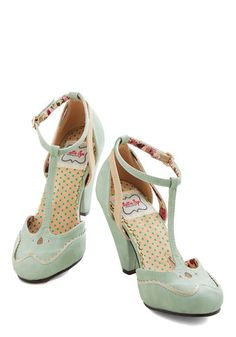 Yes please! Classic Confection Heel in Spearmint, @ModCloth
