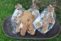 Muslin Gingerbread Cookies
