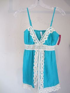 Add lace to a cami