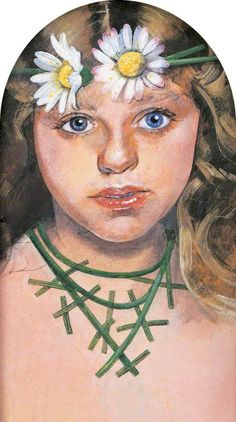 Daisy Fairy by Peter Blake Victoria Art Gallery Date painted: Victoria Art, Fairy Paintings, Classical Mythology, Peter Blake, Fairy Pictures, Beautiful Fairies, Art Uk, Pop Art, Daisy