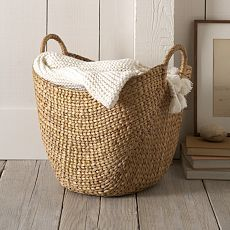 West Elm offers modern furniture and home decor featuring inspiring designs and colors. Create a stylish space with home accessories from West Elm. Large Baskets, Wicker Baskets, Decorative Baskets, Woven Baskets, French Baskets, Wicker Planter, Wicker Purse, Picnic Baskets