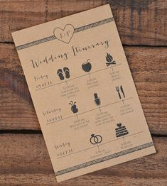 wedding weekend itinerary                                                                                                                                                      More