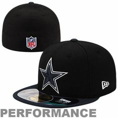 28e5069fa New Era Dallas Cowboys Thanksgiving Day 59FIFTY Performance Fitted Hat -  Black