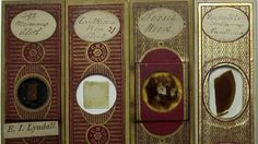 Even Victorian microscope slides were beautifully ornate.. from io9