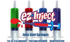 Large 2.5 oz Jello Shot Syringes
