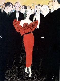INTERSTYLEPARIS ♥ René GRUAU Illustrateur de mode