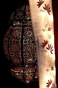 Moroccan lamp, I want one!!!