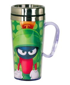Look what I found on #zulily! Marvin the Martian Insulated 15-Oz. Travel Mug #zulilyfinds