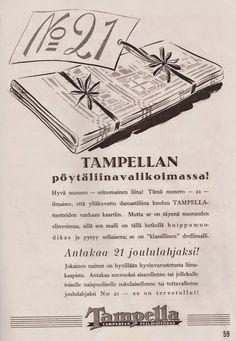 Tampellan pöytäliina, 1938