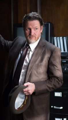 Gotham - Donal Logue as Detective Harvey Bullock