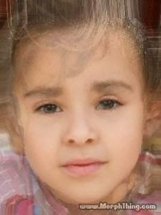 not to be creepy or anything....but this is Danielle and Liam morphed. This would be their child.