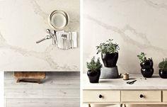 Caesarstone's New Marble Inspired Calacatta Nuvo