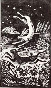 Dancing Hares - Celia Hart