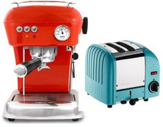 vintage appliances in great colors <3