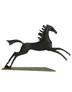 VINTAGE HAGENAUER GALLOPING HORSE SCULPTURE