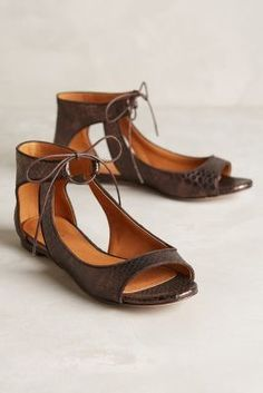 Miss Albright Scaled Cut-Out Flats #anthroregistry