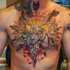 Best Ink - colored tattoes - Pappa's Blog