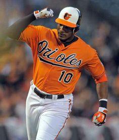 Adam Jones Baltimore Orioles Baseball League Games Sports Players