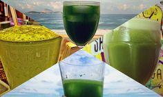 12 sucos verdes