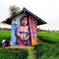 """Homeland"" by @wd_wilddrawing in Bali."