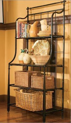 High Quality Red Bakers Rack From Seventh Avenue ® Buy A Similar Rack And Paint It Any  Color You Want To Have A Great, One Of A Kind Piece!