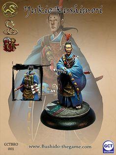 Other Wargames Bushido Bnib - Yukio Koshimori, Envoy - Prefecture Of Ryu, Ito Clan, Silvermoon Knights Helmet, Viking Helmet, Gaming Magazines, Harry Potter Miniatures, Star Wars, Asia, Color Profile, Fantasy Miniatures, Emperor