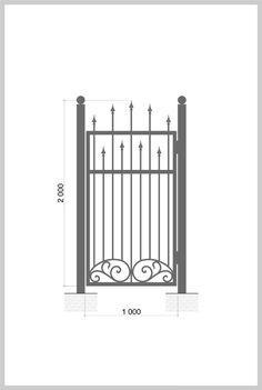 #Калитка / #gate  #Wrought_Iron_Doors Артикул:k_09 Ширина, мм: 1000 Высота, мм: 2000 Покрытие:Пентал Амор Цена: 19 680 руб./шт. Подробное описание на сайте. #Metalmade