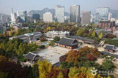"""Deoksugung Palace (덕수궁)    99, Sejong-daero, Jung-gu, Seoul  서울 중구 세종대로 99 - Deoksugung Palace is a walled compound of palaces in Seoul that was inhabited by members of Korea's royal family during the Joseon monarchy until colonial period around the turn of the 20th century. It is one of the """"Five Grand Palaces"""" built by the kings of the Joseon Dynasty. - https://en.wikipedia.org/wiki/Deoksugung"""