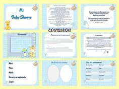 Kit imprimibles para baby shower gratis - Imagui