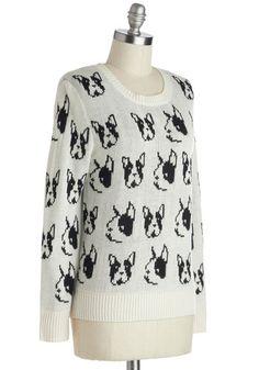 Boston terrier sweater... ModCloth.com