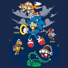 Super Sonic Bros. - NeatoShop