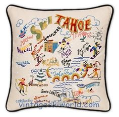 Tahoe pillows!