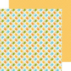 Doodlebug Design Item:4483  chowtime double-sided cardstock